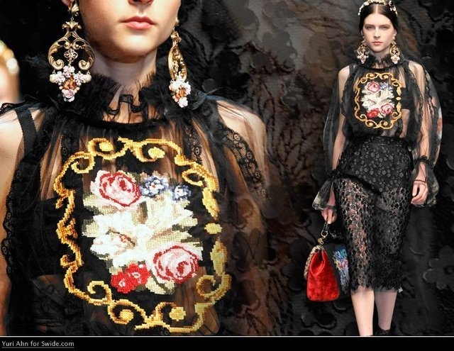 Fancy - dolce and gabbana fw2013
