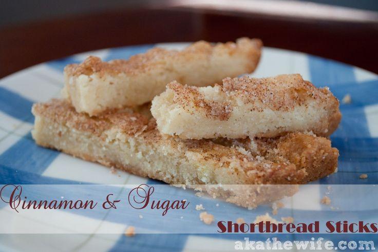Cinnamon Toast Shortbread Cookies Recipe — Dishmaps