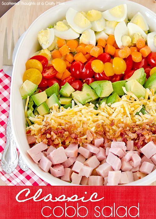 cobb salad cobb salad with grains easy cobb salad cobb salad classic ...