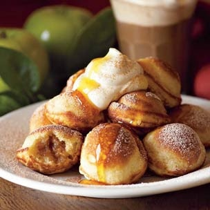 Spiced Apple Filled Pancakes Recipe | Food Stuffs | Pinterest