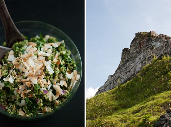 Coconut Quinoa and Kale with Tropical Pesto + Notes on Belize - Cookie ...