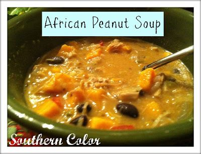 African Peanut Soup Recipe #SouthernColor