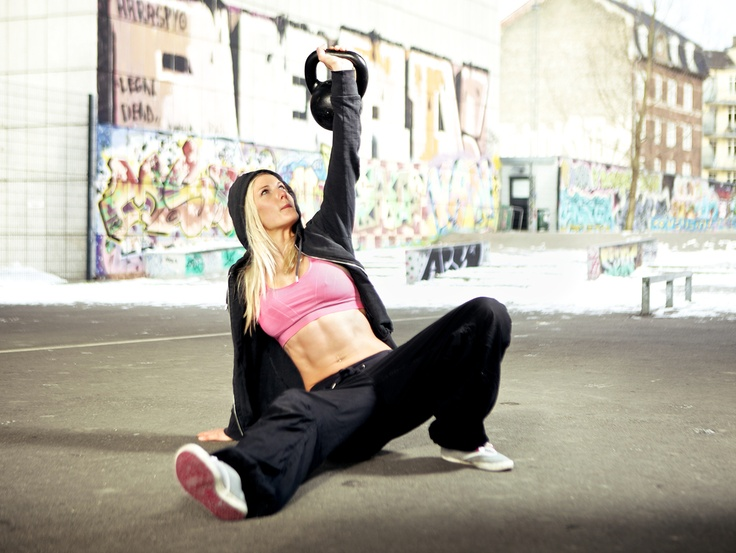 Let's kick up the intensity!  Kettlebell Fat Burning Workout!