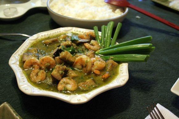 Green Thai Shrimp Curry | Healthy stuff | Pinterest
