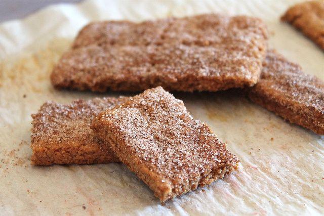 cinnamon sugar honey graham crackers | Yummzies | Pinterest