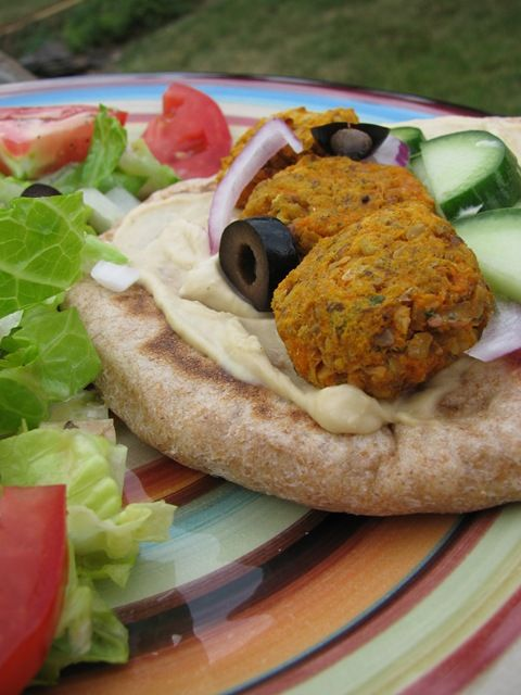 Pita, Please Baked Sweet Potato Falafel