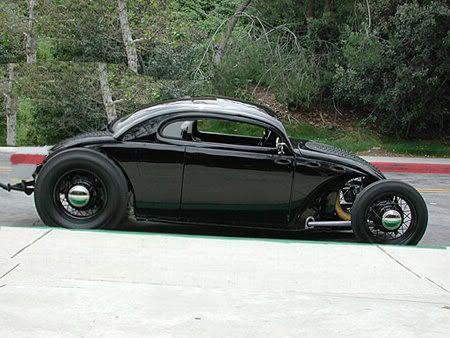 chopped vw bug cool cars vw pinterest. Black Bedroom Furniture Sets. Home Design Ideas