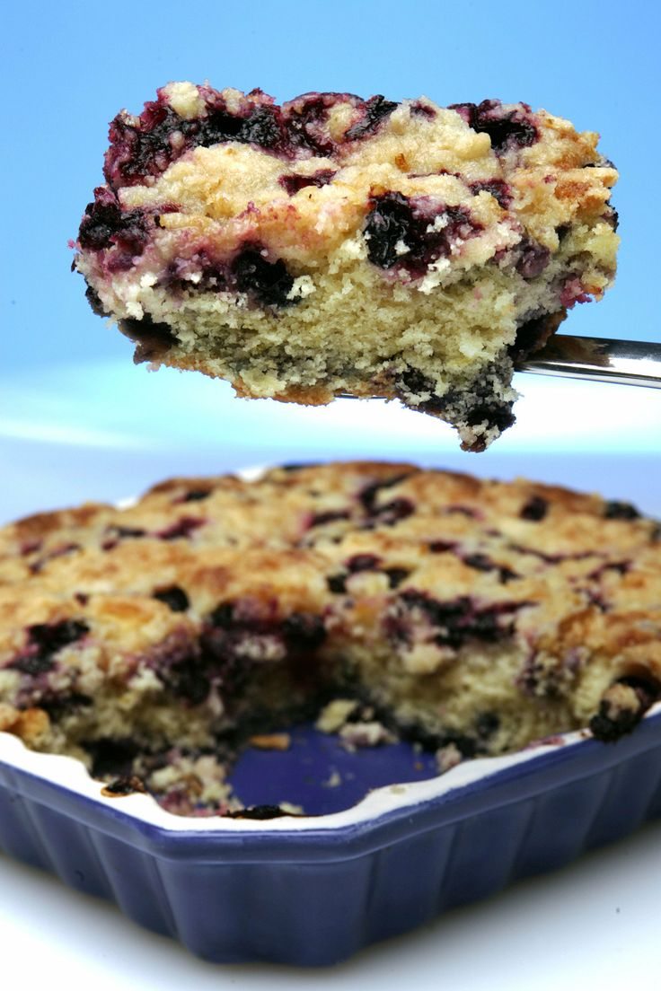 Lemon blueberry buckle - I have made this before and the recipe works ...