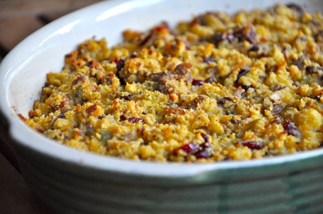 Sausage Cornbread Stuffing | Rage Your Way Thin | Pinterest