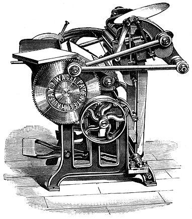 Vintage Printing Press 69