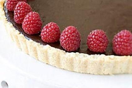 Bittersweet Chocolate Tart with Raspberries | Whole Foods Market