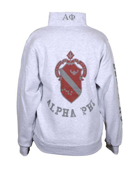 love half zips! alpha phi :)