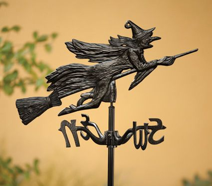 Witch weathervane my wallpaper