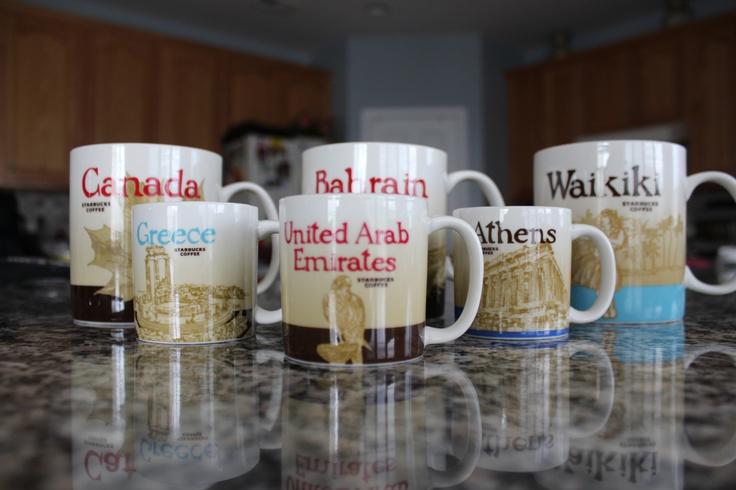All around the world starbucks mugs starbucks coffee for Starbucks in the world