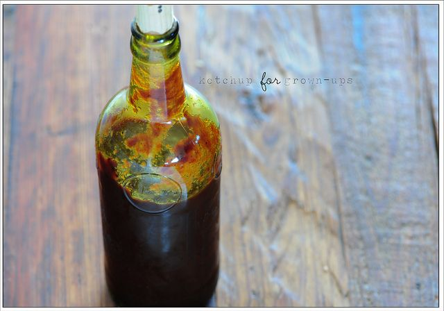 ketchup for grown-ups (incl red wine) | svcs totry | Pinterest