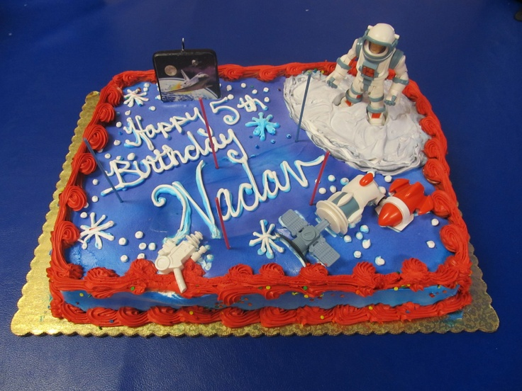 Outer space birthday cake awesome cakes from 2012 and for Outer space cake design