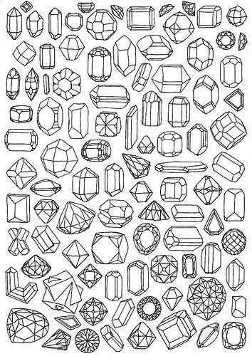minerals by Emma Dajska, via Flickr