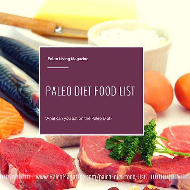 The ultimate paleo diet food list