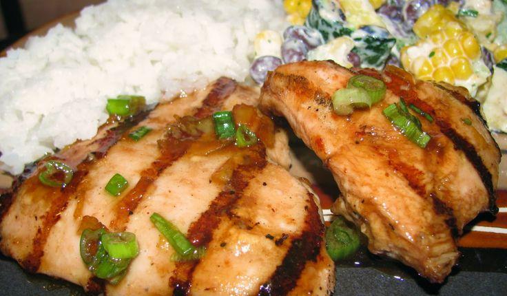 Orange Chicken recipe with orange marmalade and balsamic vinegar ...