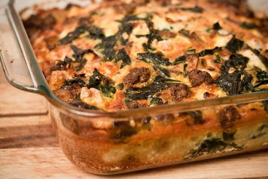 Sausage-Chard-Feta-Frittata | Wheat Free Meals, Side Dishes, and Snac ...