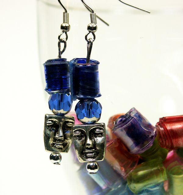 Make beads from plastic bottles jewelry pinterest - Plastic bottle jewelry making ...