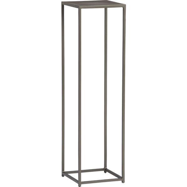 mill tall pedestal table $179
