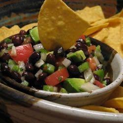 Texas Caviar with Avocado | Dip Recipies | Pinterest