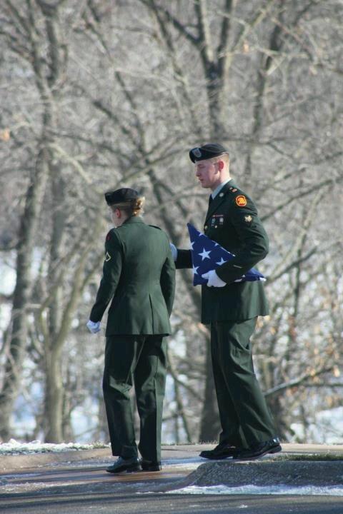 Military funeral honors honor pinterest