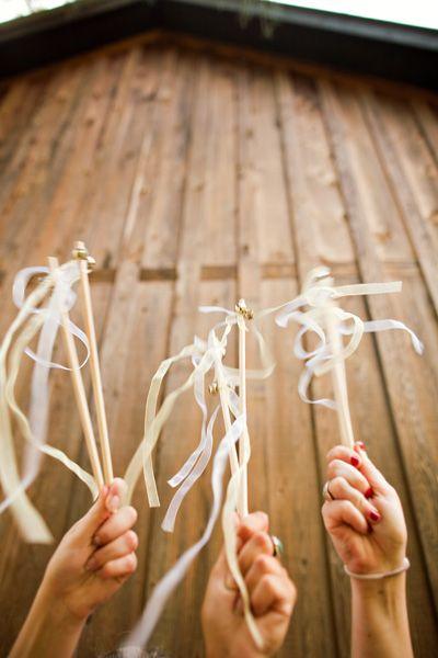 DIY Wedding, Ideas, Send Off, Bells, Ribbon, Wands, Weddings ...