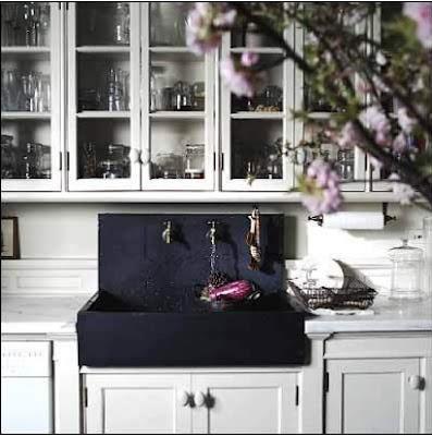Slate Farmhouse Sink : black slate farmhouse sink Dream Home. Pinterest
