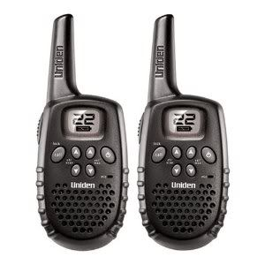 Uniden walkie talkies - great for families!