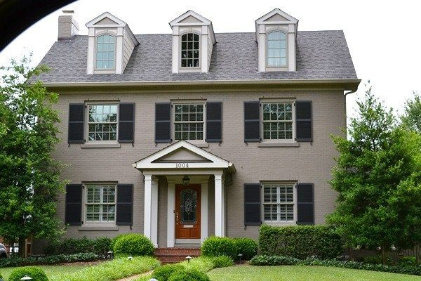 Painted brick exterior paint renovation ideas 2014 pinterest - Painted brick exterior pictures set ...