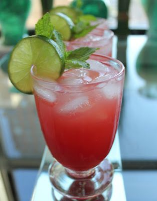 Sparkling Watermelon Punch Bowl - Domesticate ME!