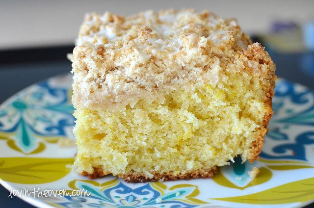 Meyer Lemon Coffee Cake - Lovin' From The Oven