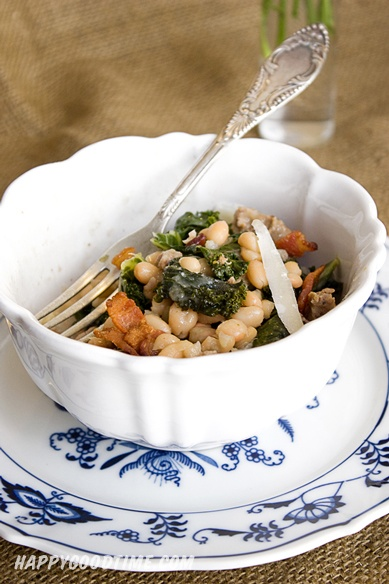 White beans with sausage and kale | Nummy | Pinterest