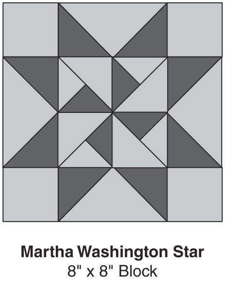 "Martha Washington Star, part of Quilter's World's FREE Quilt Block of the Month. Get the download here: http://www.quiltersworld.com/Quilt_Block/?id=2  ""Like"" the Quilter's World Facebook page so you don't miss a single monthly installment: https://www.facebook.com/QuiltersWorldMag"