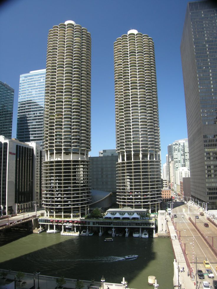 marina towers chicago design residential pinterest