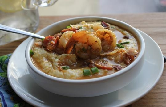 Shrimp and grits with bacon and gruyere | Breakfast and Brunch | Pint ...