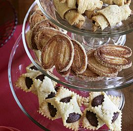 ... Rugelach, Caramel-Glazed Cardamom Palmiers, and Brownie Bowties, for a