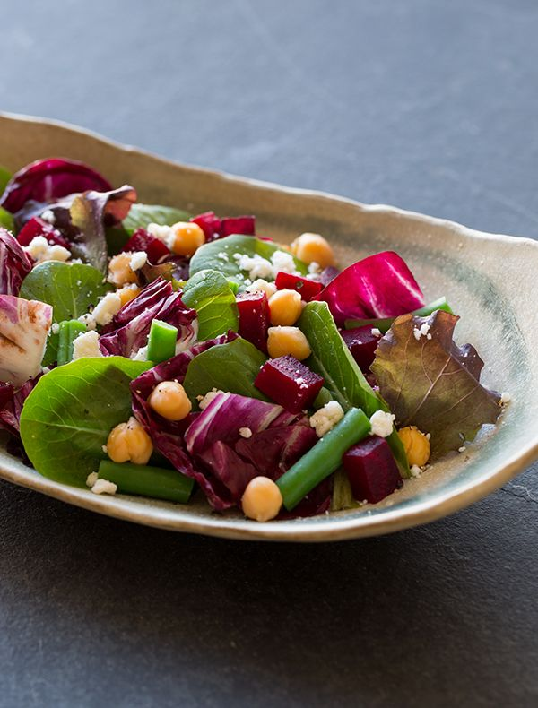 Roasted Beet Salad With Ricotta Salata And Pistachios ...