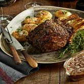 Beef Rib Eye Roast with Pepper-herb Crust - Coles Recipes & Cooking