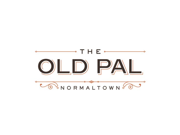 The Old Pal | Logos | Pinterest