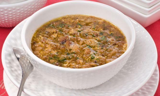Receta de Sopa de ajo de Bruno Oteiza | Recipe
