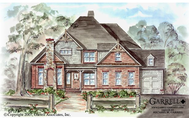Pin by garrell associates incorporated on craftsman style for Garrell and associates house plans
