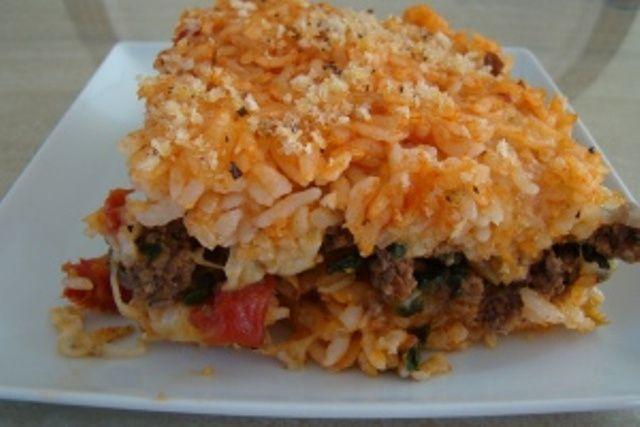 Sicilian Rice Ball Casserole Recipe — Dishmaps