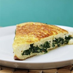 Souffle omelet with Robiola by foodandstyle