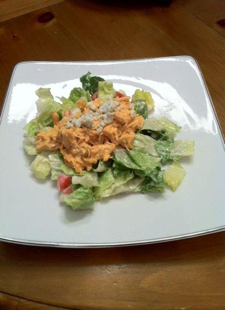 Buffalo Chicken Dip Salad, YUMM!!!!! | ummmmm….recipes! | Pinterest
