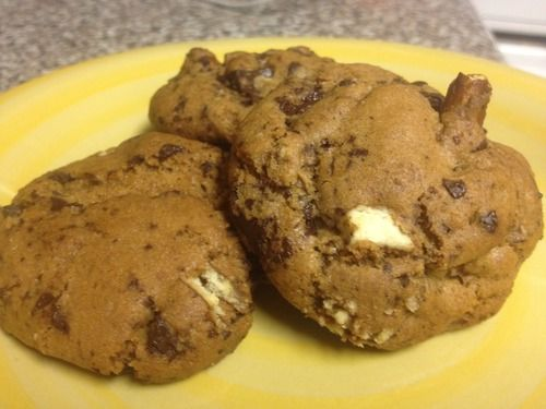 Brenna's Browned Butter Sea Salt Chocolate Chunk Pretzel Cookies