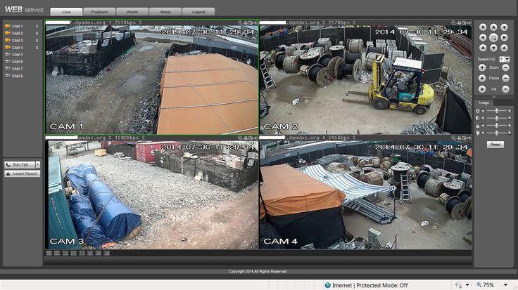 Itekco đã lắp đặt camera quan sát kho xưởng ngoài trời thành công tại KCN tp Hải Phòng