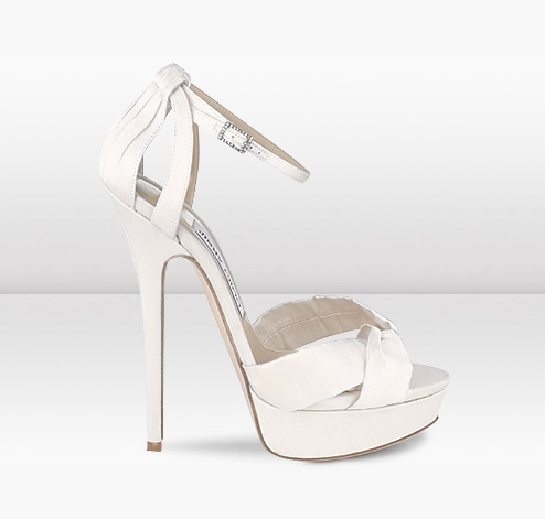 Jimmy Choo  Fairy  Bridal Satin Sandals  JIMMYCHOO.COM